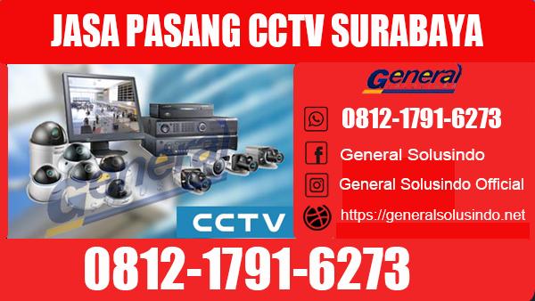Jasa Pasang CCTV Surabaya Pusat
