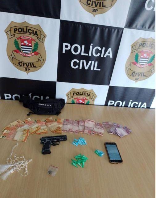 Polícia Civil apreende drogas e prende homem em flagrante em Registro-SP