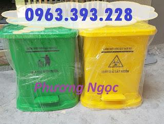 Thùng đựng rác thải y tế đạp chân 25 Lít, thùng rác y tế đạp chân TR%25C4%2590C25L5