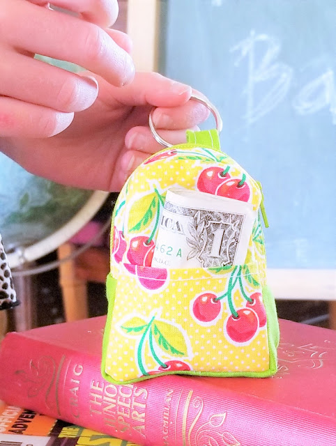 diy backpack coin pouch pattern