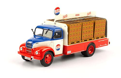Ford Thames ET6 1955 Pepsi Cola 1:43 vehiculos de reparto y servicio