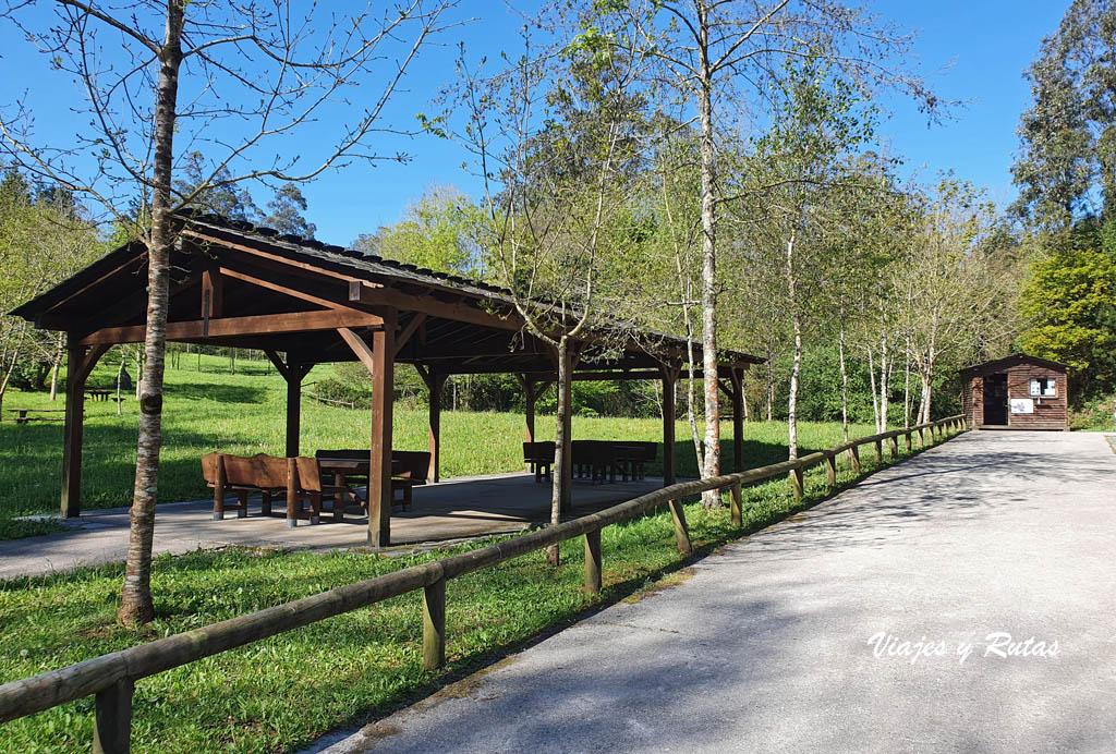 Taquilla de las Cuevas de Andina, Asturias