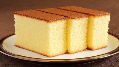 الكيكة السحرية بدون بيض بدون خلاط