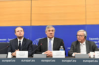 Jean-Claude Juncker, Consejo Europeo, Donald Tusk, Parlamento Europeo, Antonio Tajani,