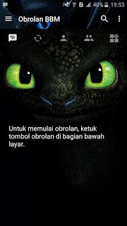 Bbm Themes Night Fury V3.1.0.13 Unclone Apk Terbaru