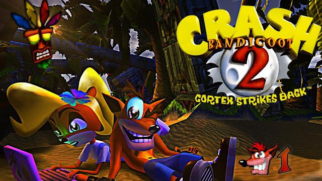 تحميل لعبه كراش مشي 2 | Crash Bandicoot 2