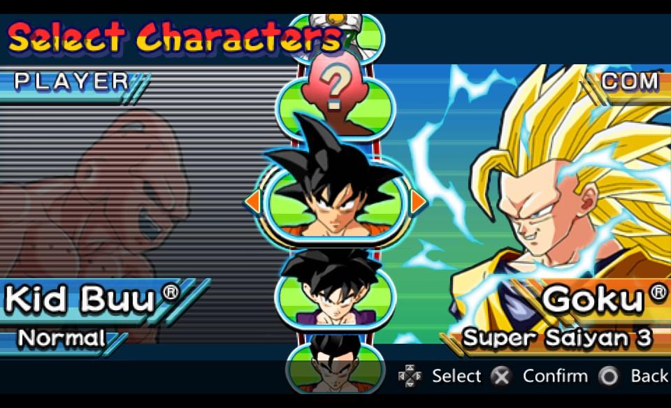 تحميل لعبة القتال دراغون بول زي Dragon Ball Z Shin Budokai