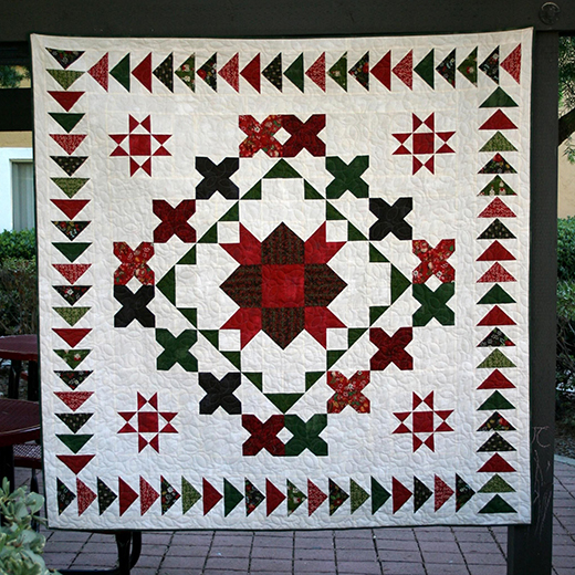Homespun Quilt Along designed by Lauren of Brights On White