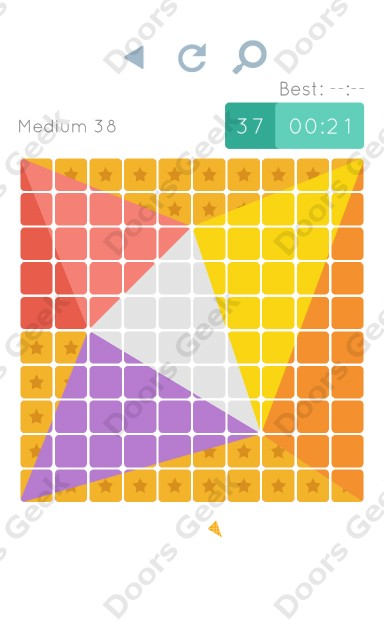 Cheats, Walkthrough for Blocks and Shapes Medium Level 38