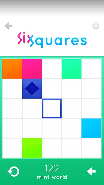 Sixsquares addicting android puzzle gameplay