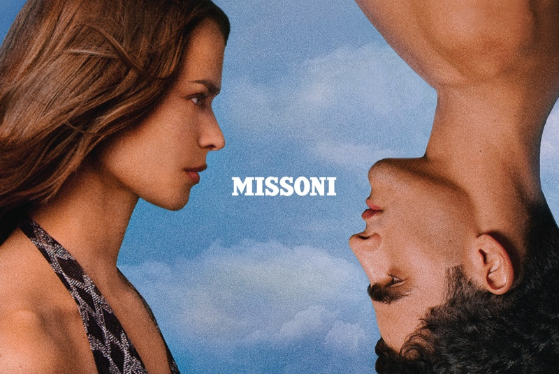 Missoni Winter 2020 Campaign starring Birgit Kos
