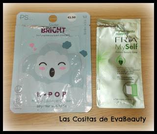 Mascarillas faciales terminadas Primark y FRIA #Primark #FRIA #mask #empties #productosterminados #mascarillas #skincare