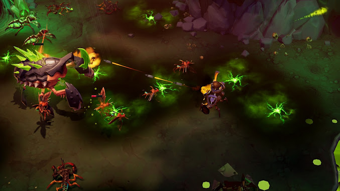 Torchlight III review gameplay scene