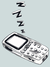 Mobiltelefon - stendöd!