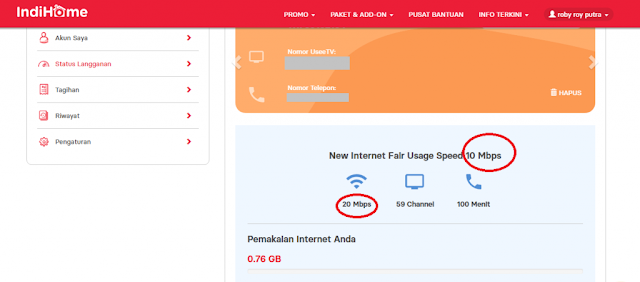 New Fair Usage Speed 10 Mbps