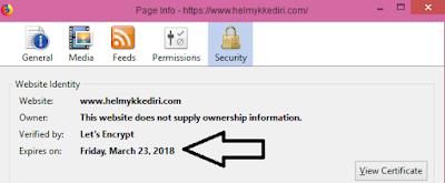 mengaktifikan HTTPS blogger domain TLD3