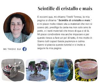 Biografia di Scintille di cristallo e mais - Teresa Tinelli