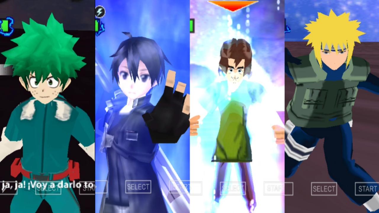 Anime Crossover DBZ TTT Mod