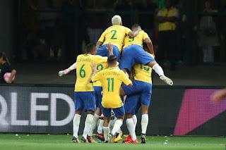 Seleção Brasileira vence o Chile por 3 a 0 | Créditos: Lucas Figueiredo/CBF