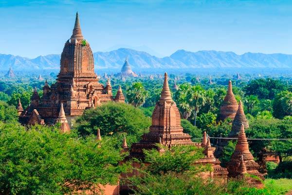 Trekking por Bagán Birmania
