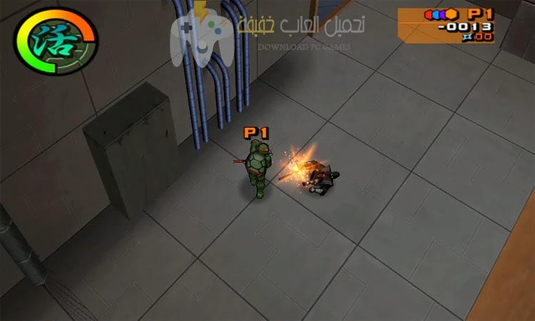 تحميل لعبة سلاحف النينجا 2 Ninja Turtles برابط مباشر