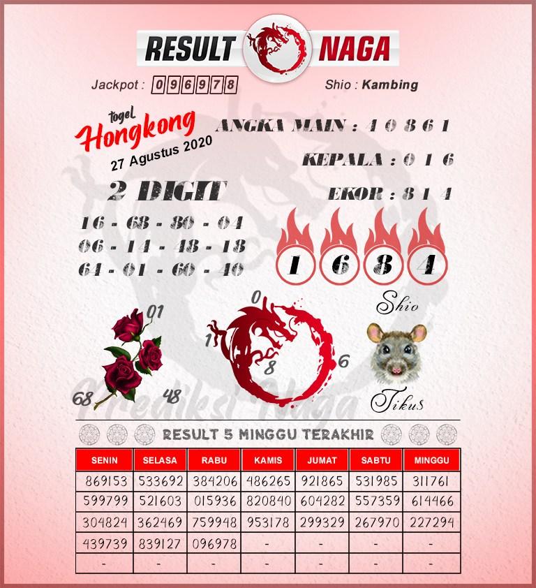 syair hk result naga