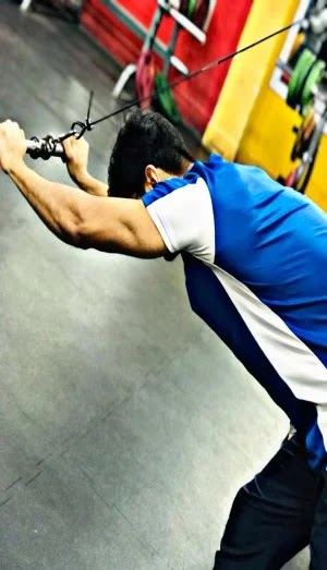 Best Exercises For Triceps, overhead tricep extension