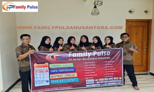 Family Pulsa, Distributor Pulsa Elektrik Termurah dan Terpercaya