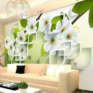 طريقة تركيب ورق الجدران