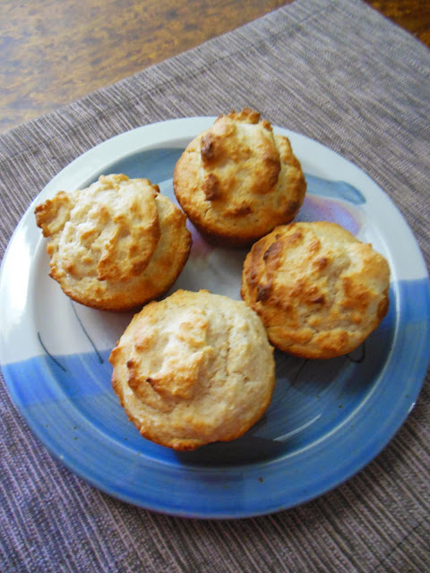 Fluffy Biscuit Muffins, another self-rising flour recipe.
