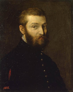 Paolo Veronese: a self-portrait, reckoned to be painted between 1558 and 1563.