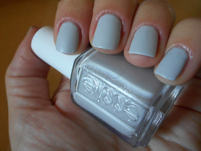 Essie Go with the Flowy with a matte finish