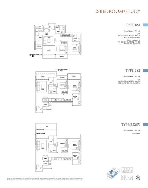 Goodwood Grand 2BR Floor Plan