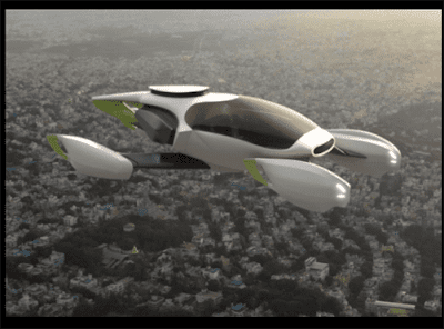 OLA Flying Taxi Pictures , Photo