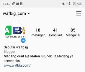 Cara Membuat Huruf Tebal Di Bio Instagram Tanpa Aplikasi