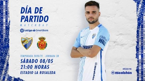Previa del Málaga - Mallorca (21:00)