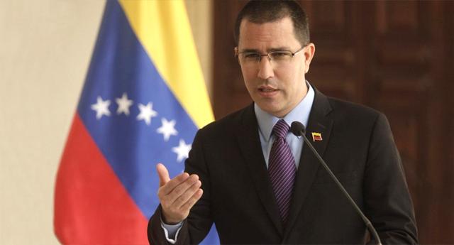 Jorge Arreaza aboga por retomar el diálogo con la oposición venezolana