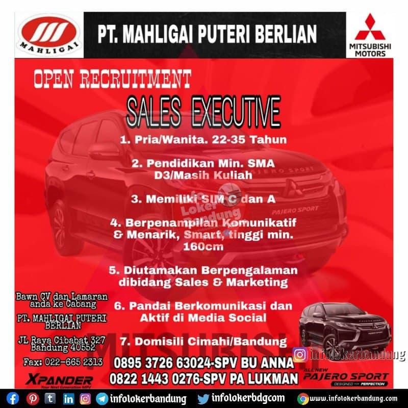 Lowongan Kerja PT. Mahligai Puteri Berlian ( Mitsubishi Motors) Bandung Juni 2021