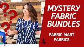 Mystery Fabric Mart Fabrics Bundle YouTube thumbnail Sharon Sews