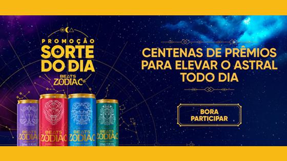 Promoção Beats Zodiac - Sorte do Dia
