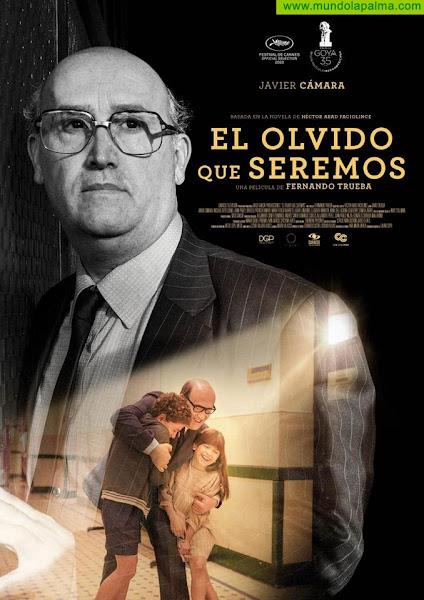 """El Teatro Cine Chico estrenará la película """"El Olvido que Seremos"""" con Javier Cámara"""