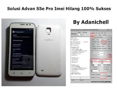 Solusi Advan S5e Pro Imei Hilang