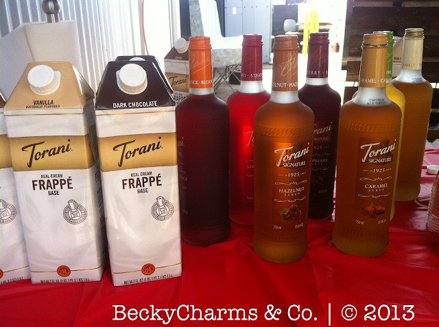 Torani Real Cream Frappé Mix and New Signature Syrup Sample by BeckyCharms