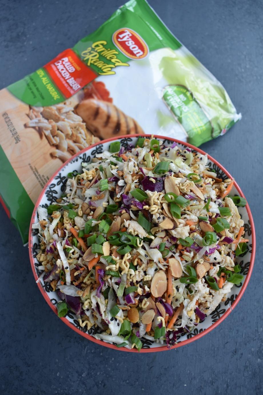Chopped Asian Ramen Salad
