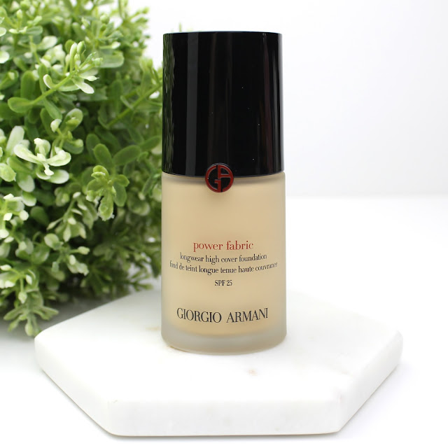 5 Days of Foundation: Giorgio Armani Power Fabric Longwear High Cover Foundation review dry skin shade 2