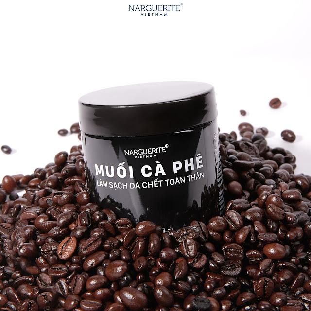 muối cà phê tẩy da chết narguerite
