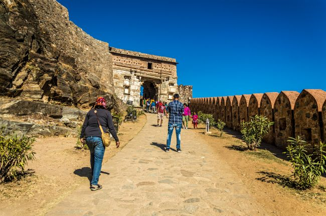 A walk up the Palace complex