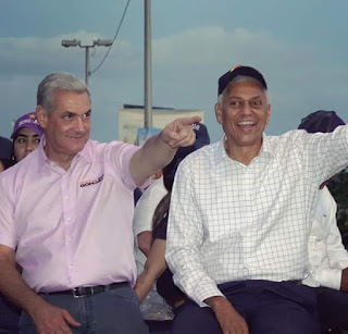 Andrés De las Mercedes  dice San Cristóbal decidió votar temprano este domingo  por Guillén para que continúe el progreso