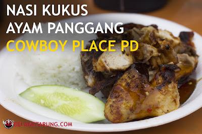 Nasi Kukus Ayam Panggang Cowboy PD