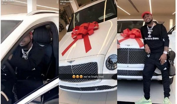Davio's Bentley Bentayga